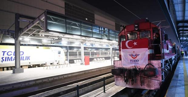 Türkiye'nin ilk ihracat treni