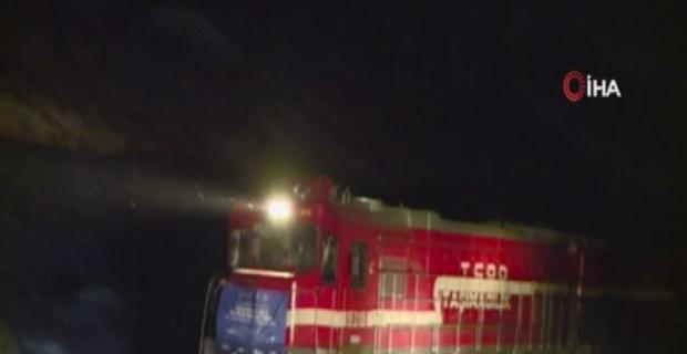 Çin'e gidecek ihracat treni, Bakü Limanı'nda