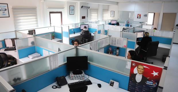 Alo 185 çağrı merkezi  7/24 Eskişehir'in hizmetinde