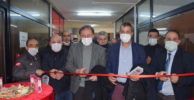 Baranselspor'dan ofis açılışı