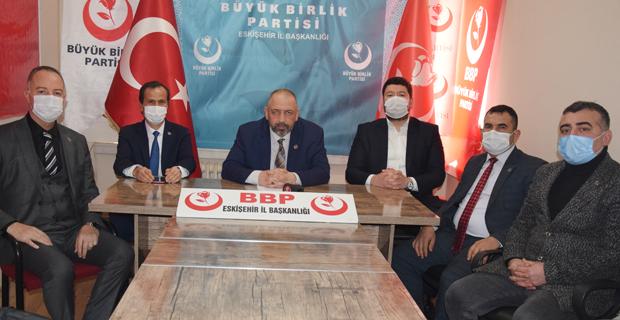 BBP çalışan gazetecileri unutmadı