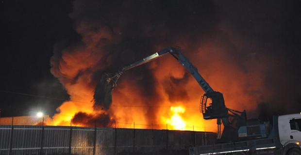 Eskişehir'de büyük yangın