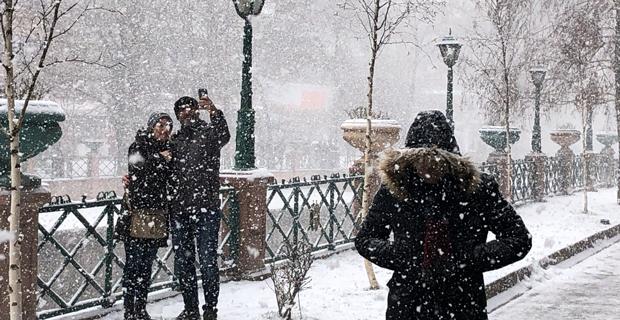 Kar yağışı Eskişehir'e geri dönüyor