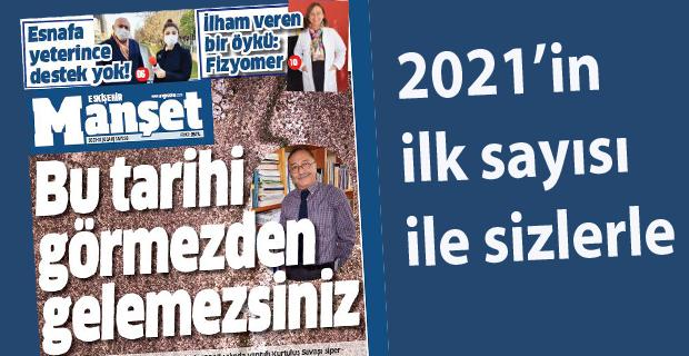 Manşet yeni yılın ilk sayısı ile dolu dolu