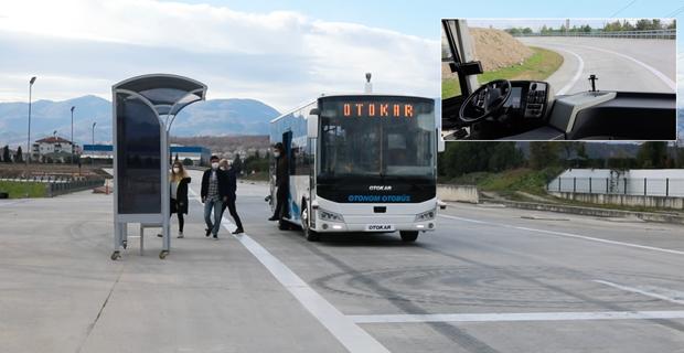 Türkiye'nin sürücüsüz otobüsü