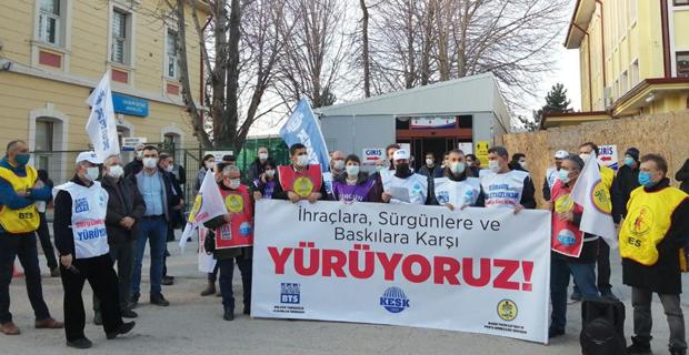 Baskı, İhraç ve Sürgünler Bizi Yıldıramaz!