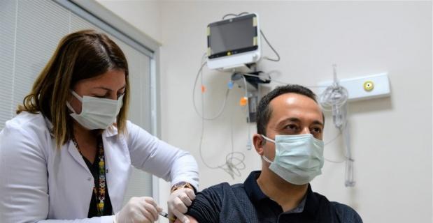 Bilecik'te CoronaVac aşını olan kişi sayısı 10 bini geçti