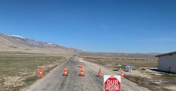 Bin 100 nüfuslu köyde korona karantinası sürüyor