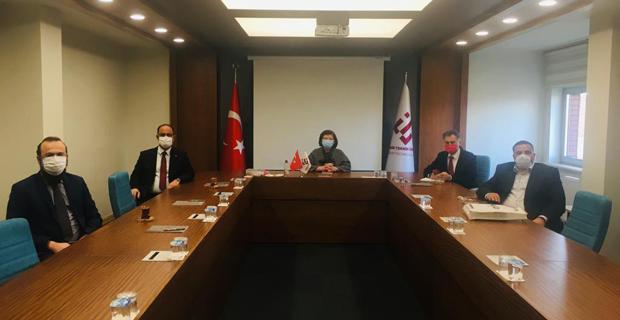 Döğeroğlu' na MÜSİAD' dan ziyaret