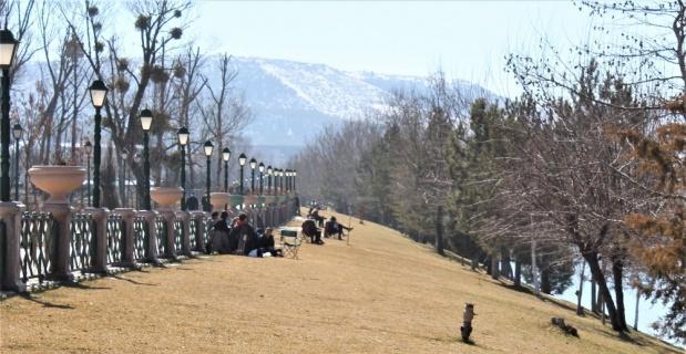Eskişehir'e bahar geldi