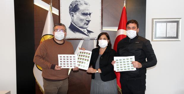 Eskişehirspor Hatıra Pulları satışa sunuldu