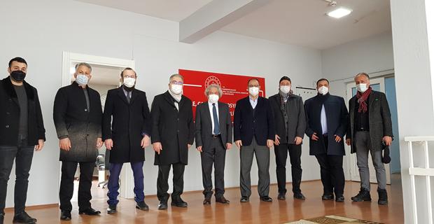 MÜSİAD' tan  Tarhan' a hayırlı olsun ziyareti