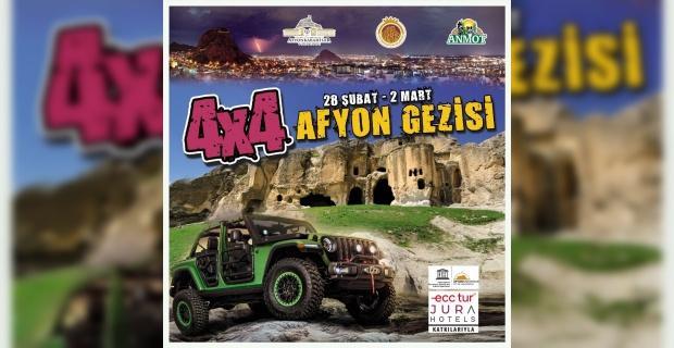 Off-road tutkunları Afyon'da buluşacak