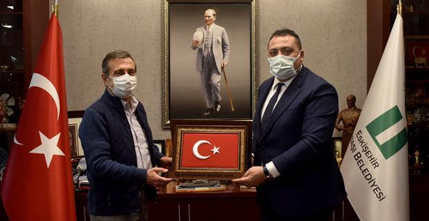 Sağlık-Sen'den Başkan Ataç'a Ziyaret