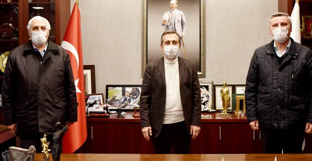 Sivrihisarlılardan Başkan Ataç'a ziyaret