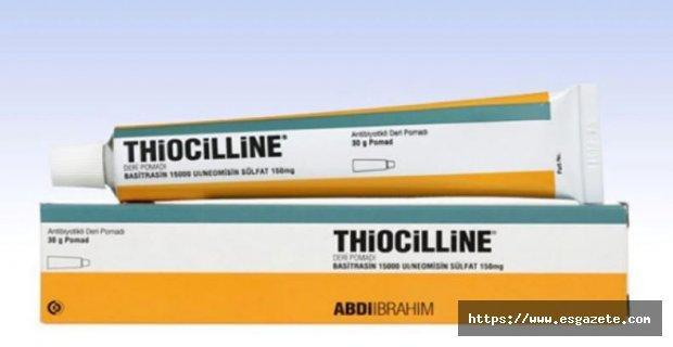 Thiocilline Nedir? Ne İçin Kullanılır? Ne İşe Yarar? Fiyatı Nedir?