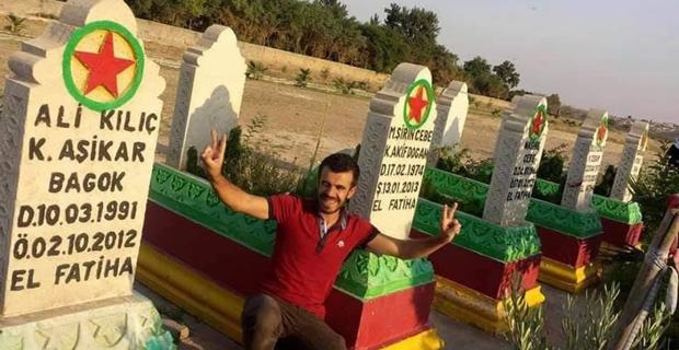 Vahşi cinayet şüphelisi PKK sempatizanı çıktı