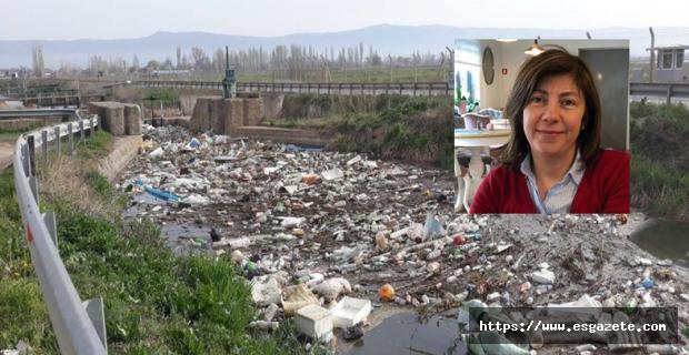 Sulama kanalları açık hava çöplükleri değildir!