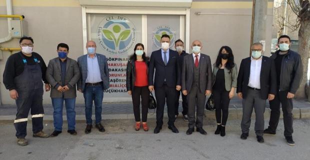 CHP Odunpazarı'ndan ÇEL-DER'e ziyaret