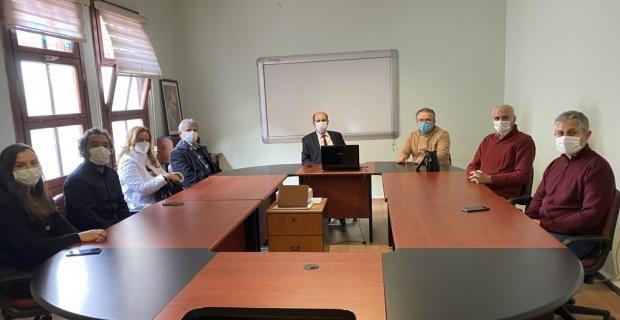 DPÜ'de proje toplantısı
