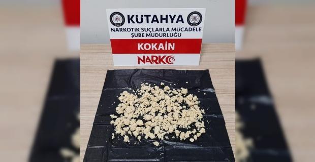 Durdurulan araçtan 110 gram kokain çıktı