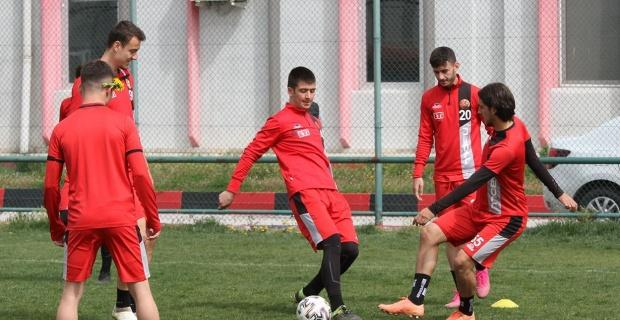 Menemenspor maçı hazırlıkları tamamlandı