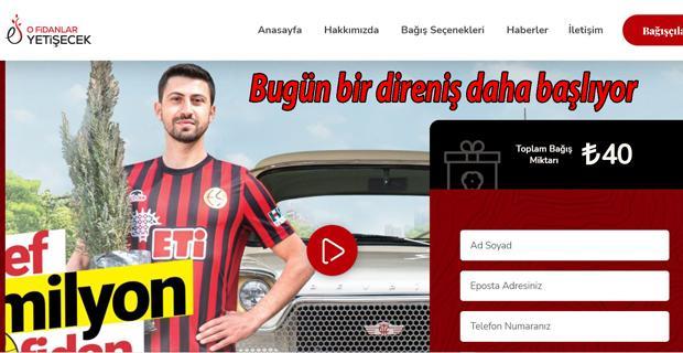 Eskişehirspor fidan kampanyası start verdi
