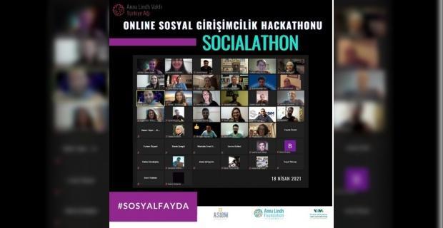 Gençlere yönelik 'Sosyal Girişimcilik Hackathonu' düzenlendi