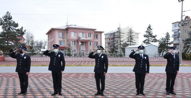 İnönü'de Polis Haftası törenle kutlandı