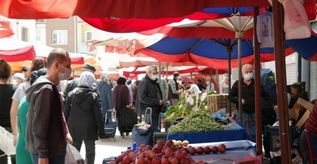 Eskişehir'de son pazar kuruldu