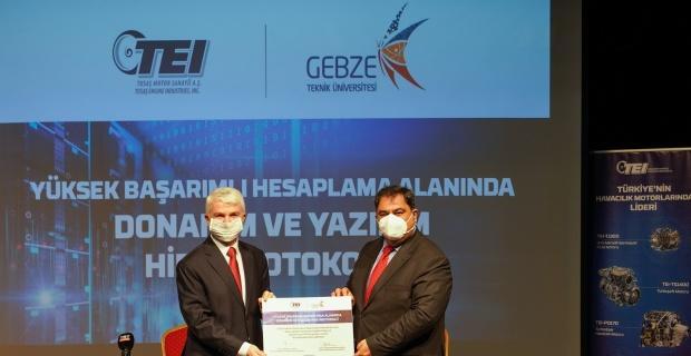 TEI'den GTÜ'ye 'Yüksek Başarımlı Laboratuvar'