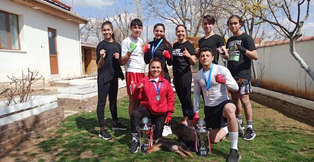 Türkiye Şampiyonası'na köyde hazırlanıyorlar