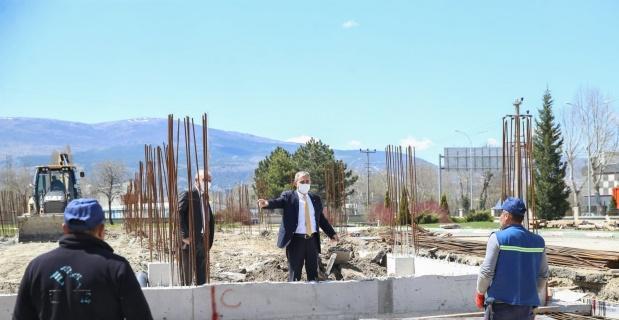 Yöresel Ürünler Satış Merkezi inşaatı 240 günde tamamlanacak