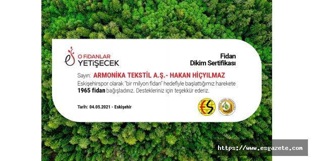 Armonika Tekstil'den anlamlı bağış