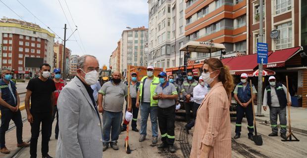 Büyükerşen'den 1 Mayıs Ziyareti