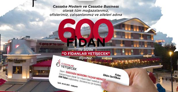 Cassaba Modern ve Cassaba Bussines'ten Es Es'e destek