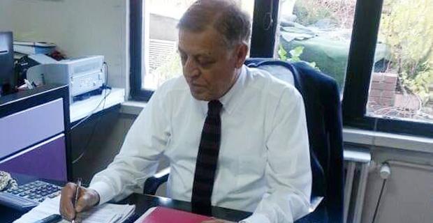 Dr Faik Bülent Ertan hayatını kaybetti