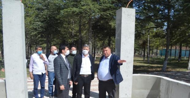 Eskişehir ve Mihalıççık Orman İşletme müdürlüklerinden Beylikova'ya ziyaret