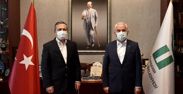 Güler'den Başkan Ataç'a Ziyaret