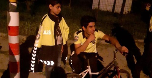 Kaybolan çocuk 10 kilometre uzakta bulundu