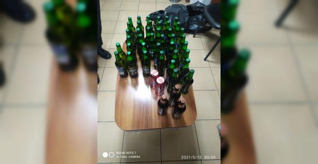 Alkol satışı yapan 2 kişi yakalandı