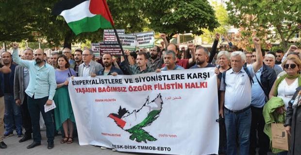 Ortadoğu'ya barış Filistin'e özgürlük!