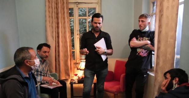 Eskişehir'de film çekiliyor