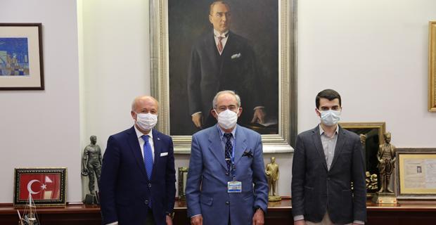 Sodemsen'den Başkan Büyükerşen'e Ziyaret