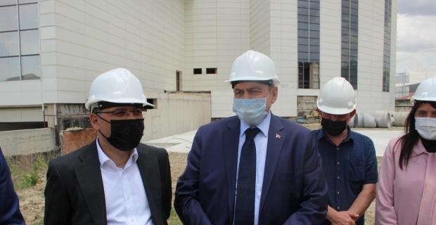Türkiye'nin ikinci en büyük müzesi inşaatında çalışmalar hızla sürüyor