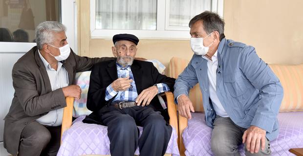Ataç'tan Mehmet Dede'ye Ziyaret
