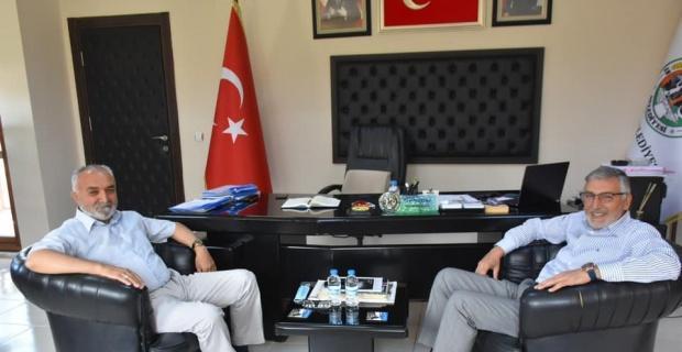 Başkanlar Kepez ve Bozkurt, yapılan çalışma ve projeleri konuştular