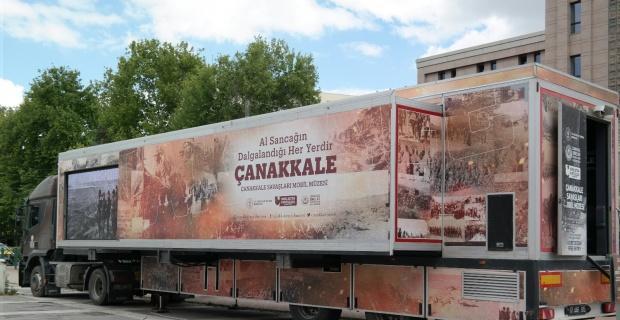 Çanakkale Savaşları Müzesi Eskişehir'de
