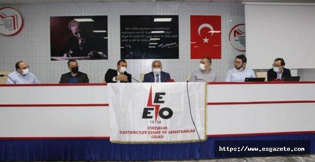 Elektrikçiler Odası Osmangazi Elektrik A.Ş ile Toplantı yaptı