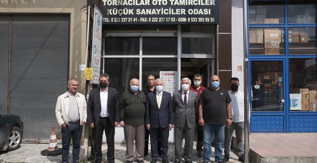 Güler'den istişare ziyareti